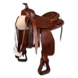 Σέλα Western για μεγάλα άλογα