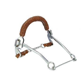 Braided Leather Hackamore
