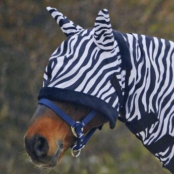 "Fly Mask ""Zebra"""