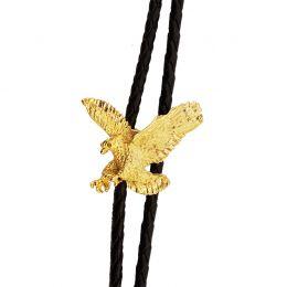 """Bolo Tie """"Gold Eagle"""""""