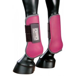 Hard Shell Tendon Boots with Soft Lining