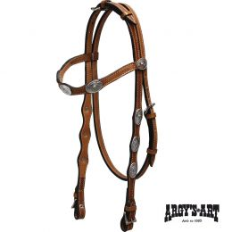 "Western Bridle Argy's Art ""Classic West"""