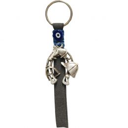 Keyring with Horseshoe