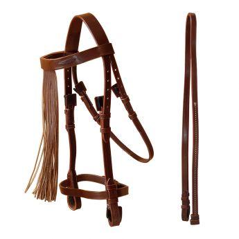 Spanish style bridle, Marjoman