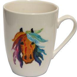 """Hand-painted Mug """"Mane"""""""