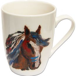 "Hand-painted Mug ""Indiana"""
