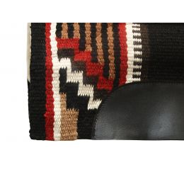 Western Woolen Saddle Pad with fur ARGY'S ART