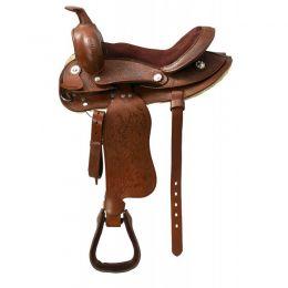 """Western Saddle for Shetland pony """"TOPEKA"""""""