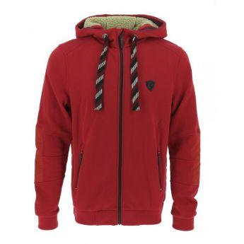 """Zipped Sweatshirt with Hood """"ANDREW"""" Equitheme"""