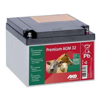 Μπαταρία 12V - 32Ah AGM Premium