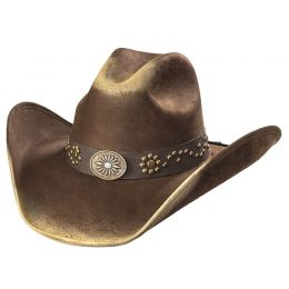 "Western Hat ""Sunburst Concho"""