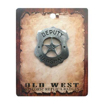 "Badge ""Deputy U.S. Marshall"""