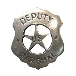 "Badge ""Deputy U.S. Marshall"""