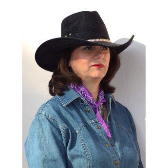 Western Hat Pinch Front-RW