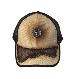 "Cap ""Skull on Horseshoe"""