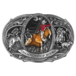 "Belt Buckle ""Championship Rodeo"""