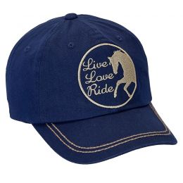 "Cap ""Live,Love,Ride"""