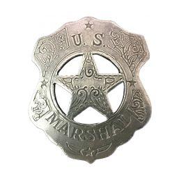 "Badge ""U.S Marshall Shield & Star"""