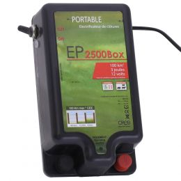 PORTABLE ELECTRICAL FENCING ENERGIZER ΕP-2500-ΒΟΧ
