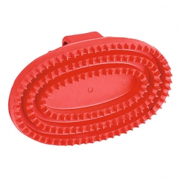 Oval Rubber Currycomb