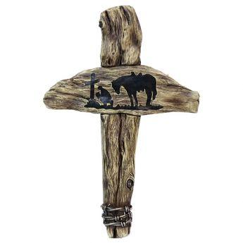 """Cross """"Praying Cowboy"""""""