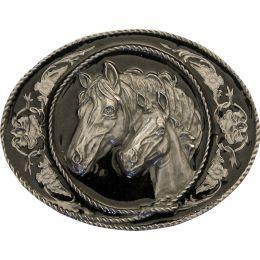"""Belt Buckle """"Mare & Foal"""""""