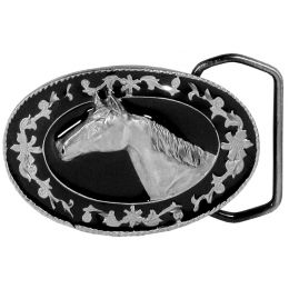 "Belt Buckle ""Small Horsehead"""
