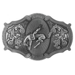 "Belt Buckle ""Rodeo Rider"""