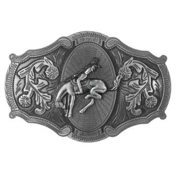 "Belt Buckle ""Rodeo Rider"""