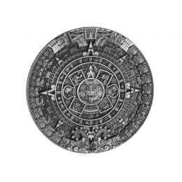 "Belt Buckle ""Aztec Calendar"""