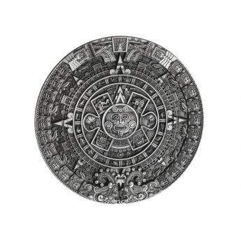 "Belt Buckle ""Aztec Calendar"""
