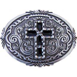"""Belt Buckle """"Western Cross"""""""