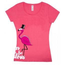 """T-shirt """"Fabulous Flamingo"""""""