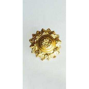 "Metal Decorative ""Gold Flower"""