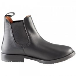 Mock Leather Jodhpur Boots