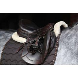 Corrector Saddle Cushion Faux Fur