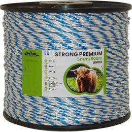 Σχοινί Ηλεκτρικής Περίφραξης 500m Strong Premium