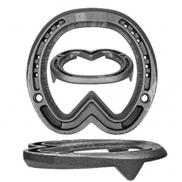 Jim Blurton Frog Support, Graduated Horseshoes
